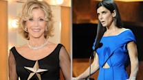 "Sandra Bullock on Jane Fonda: Even ""Her Divorces Are Better"""