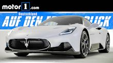 Maserati MC20: Neuer Supersportler mit 630 PS starkem Twinturbo-V6