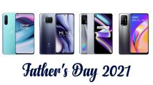 Father's Day 2021: Top 4 Smartphones To Gift Your Dad; OnePlus Nord CE 5G, Realme X7 Max 5G, Mi 10i & Oppo F19 Pro+ 5G