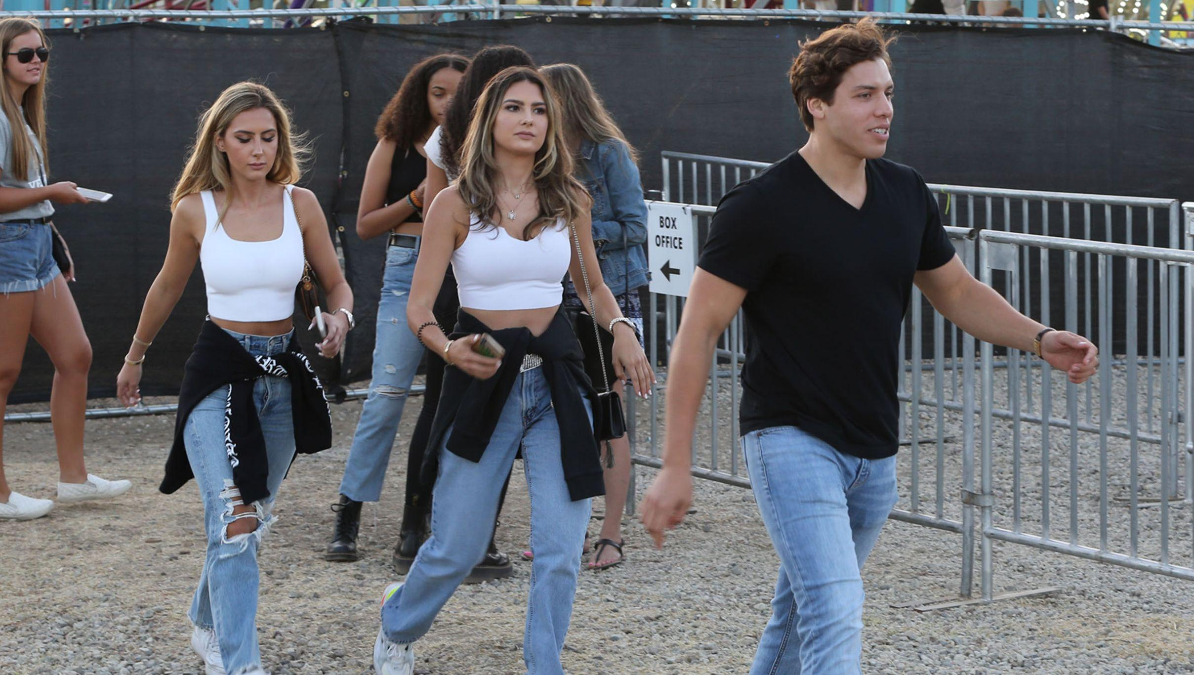Arnold Schwarzenegger's Son Seen With Smoking Hot Sisters at