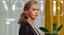 73-year-old Lauren Hutton becomes Vogue's oldest cover star
