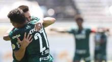 Atacantes do Palmeiras voltam a marcar e encerram 'dependência'