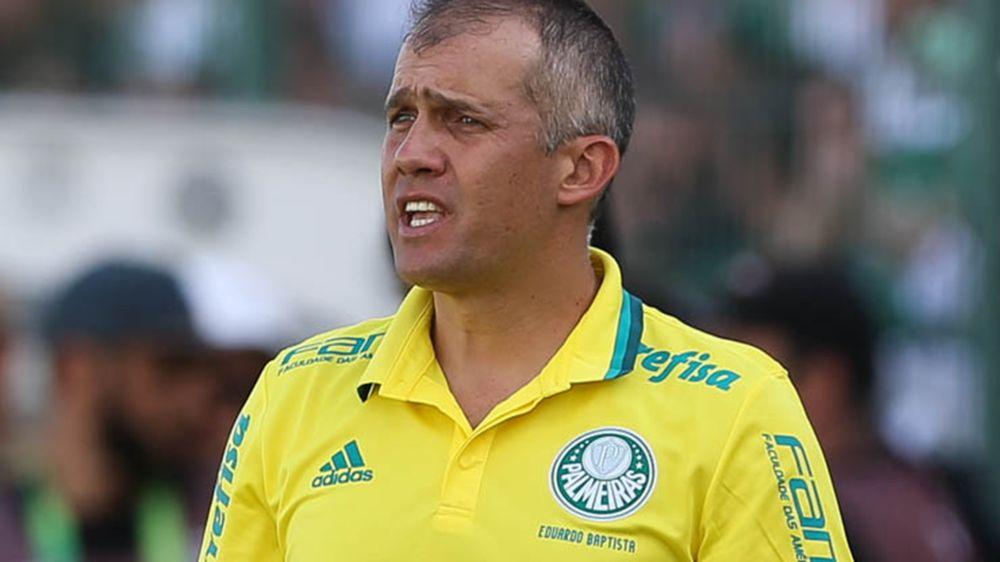 Eduardo Baptista não suporta pressão e é demitido do Palmeiras