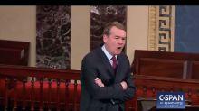'Crocodile Tears': Colorado Senator Slams Ted Cruz On Chamber Floor