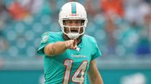 Ryan Fitzpatrick not practicing, Dolphins bringing another QB in