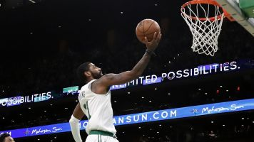 Kyrie swipes eight steals as Celtics beat Heat