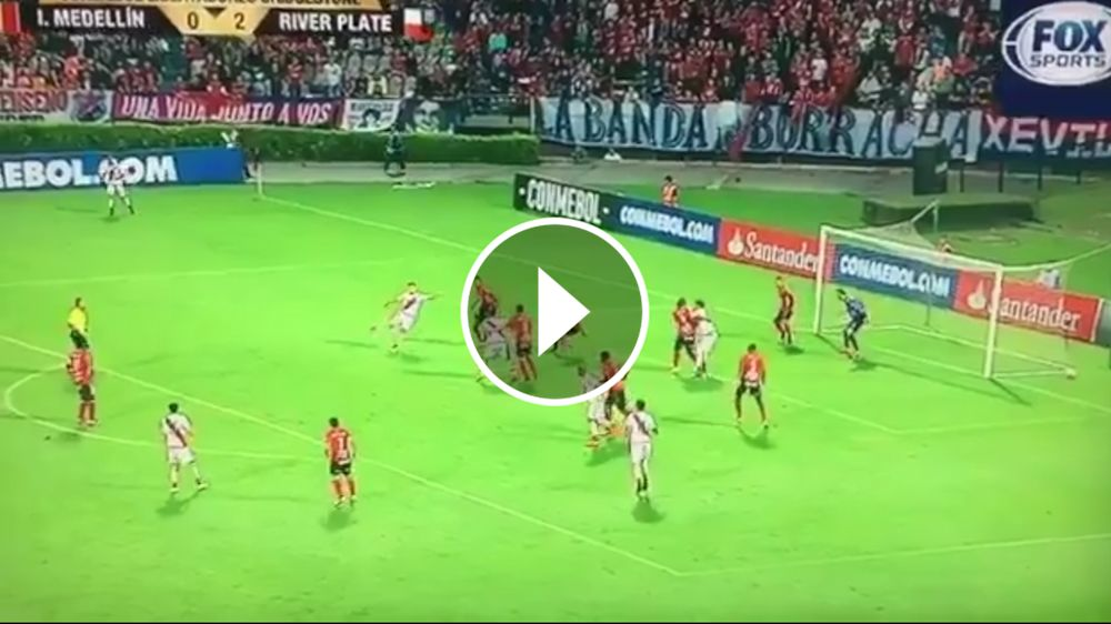 VIDEO: ¡Qué golazo, pibe! Martínez Quarta la enganchó perfecto de volea