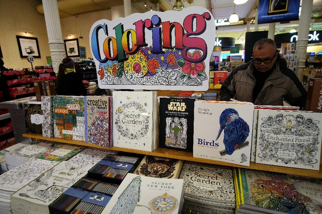 Colouring books for grown-ups promises ways to combat stress, unleash our creative spirit and generally take time out from our tech-frazzled, gadget-obsessed lives (AFP Photo/Jewel Samad)