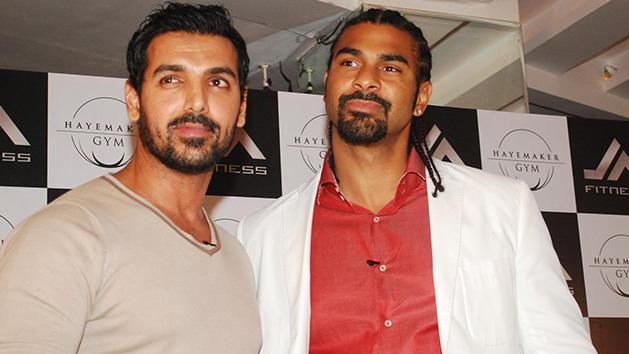 Johan Abraham And David Haye Collaborate to Promote Boxing