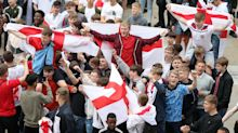 In pictures: England fans celebrate their team's win over Tunisia in the World Cup