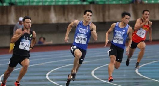 楊俊瀚雨中比田徑 東奧模擬賽奪銅