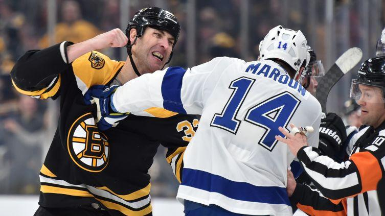 Pat Maroon details altercation with Bruins' Zdeno Chara that sparked line brawl