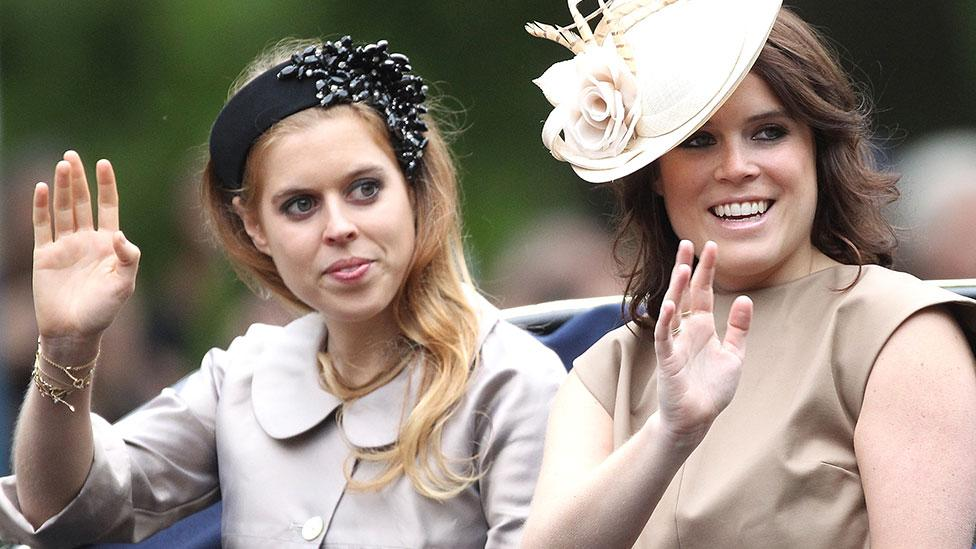 Fears Princesses Beatrice and Eugenie are being 'overshadowed' in royal family