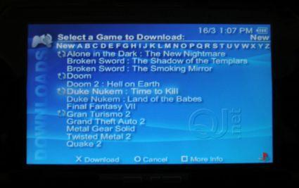 PSP firmware 3.0 out in the wild