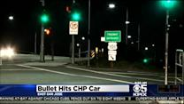 Bullets Narrowly Miss CHP Officers During Traffic Stop In San Jose