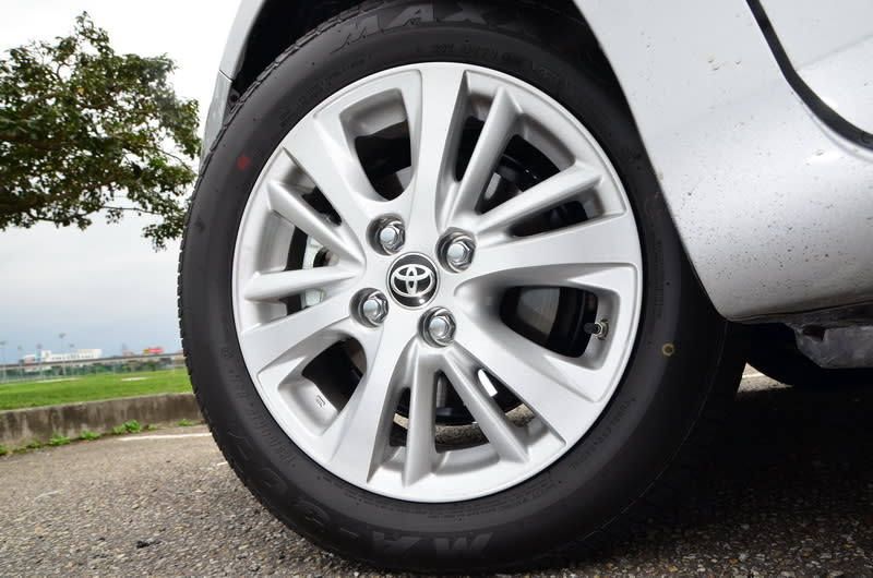 新款的多幅式輪圈讓視覺效果變得更為立體