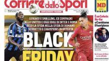 Footballers Condemn 'Black Friday' Headline In Italian Newspaper