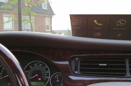 Insert Coin semifinalist: HeadsUP is a smartphone-powered HUD for your car