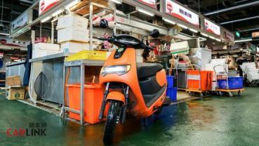 頭家的電動機車,eMOVING iE PICKUP 台北環南綠能市場趴趴走!