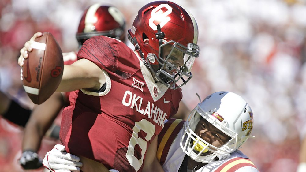 ​How Oklahoma's loss to Iowa State will impact College Football Playoff race