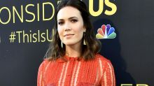 Mandy Moore Gets a Black Eye and Stitches After Running Into Shower Door Handle -- See the Selfie