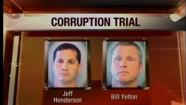 Police corruption trial begins with jury selection