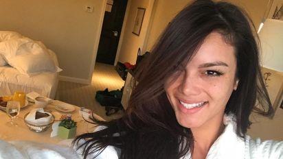 """Zuleyka Rivera, la modelo de """"Despacito"""", posa sin maquillaje y en sexy bikini; mírala"""
