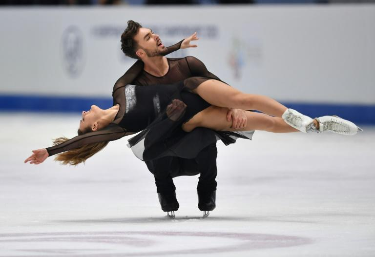 Gabriella Papadakis and Guillaume Cizeron of France were aiming for a fifth world crown at the now-canceled World Figure Skating Championships in Montreal