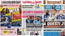 La Rassegna Stampa dei principali quotidiani sportivi italiani di giovedì 1 ottobre 2020