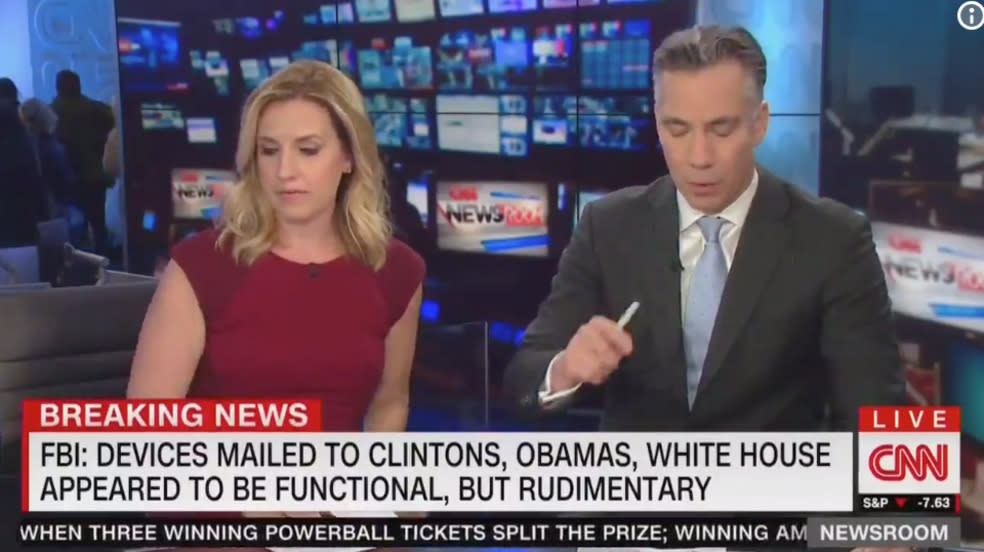 CNN Anchors Evacuate Midbroadcast Amid Suspicious Package Threats