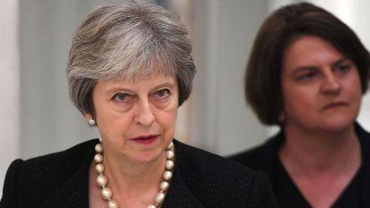 May: I won't accept EU's ideas on Irish border