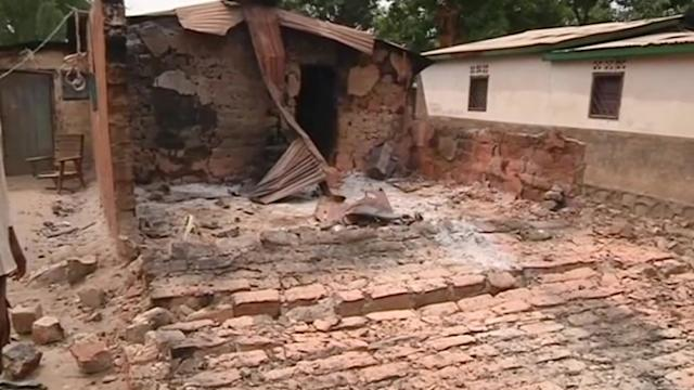 Homes torched overnight in Central African Republic