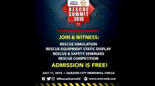 Rescue groups gear up for first-ever UNTV Rescue competition