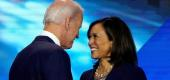 Joe Biden and Kamala Harris. (Reuters)