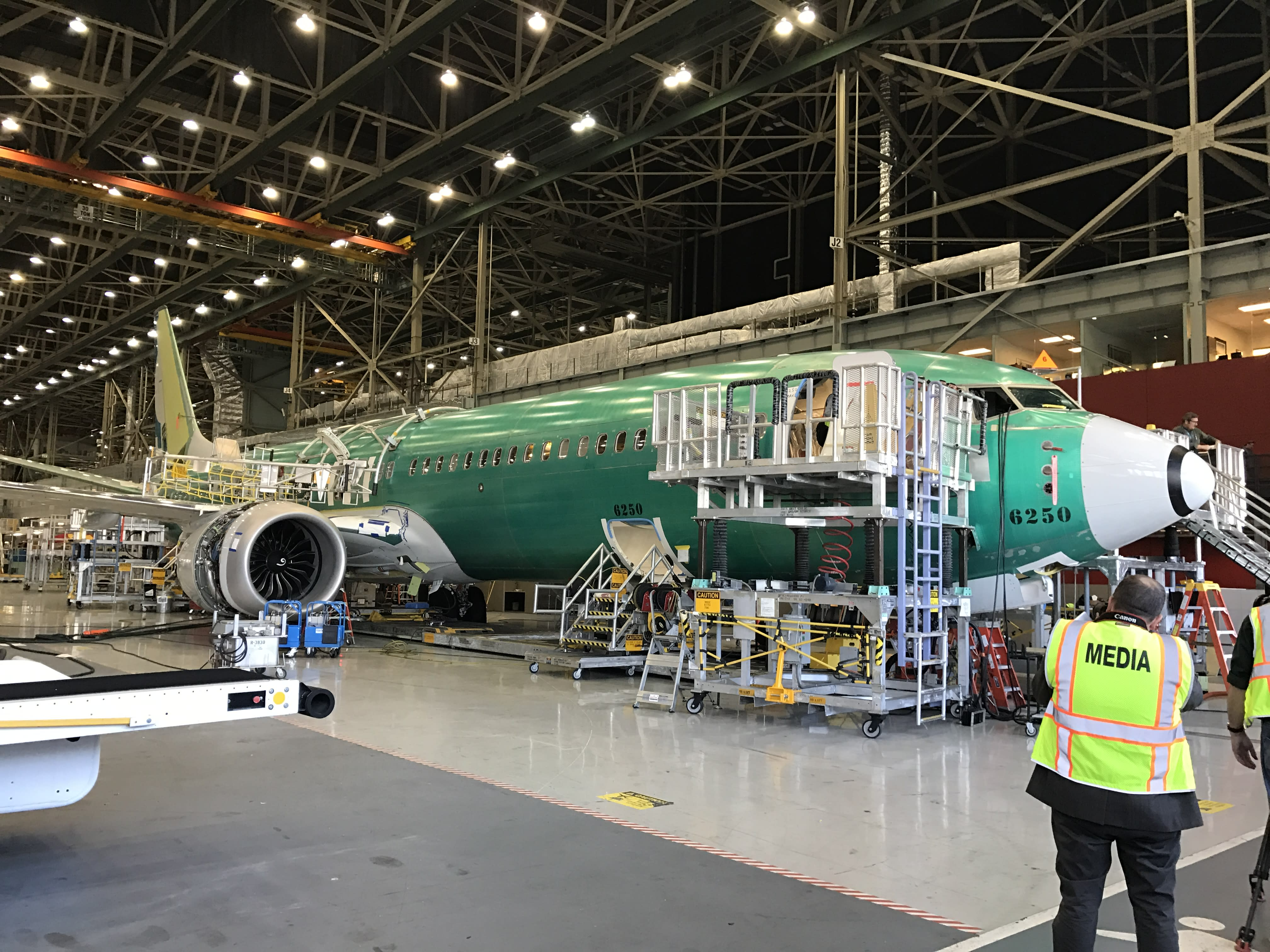 Get a sneak peek at Boeing's 737 MAX 9 jet – and the
