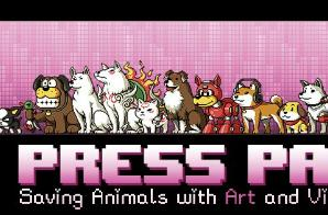 Press Paws charity art show to break hearts, empty wallets, save pooches