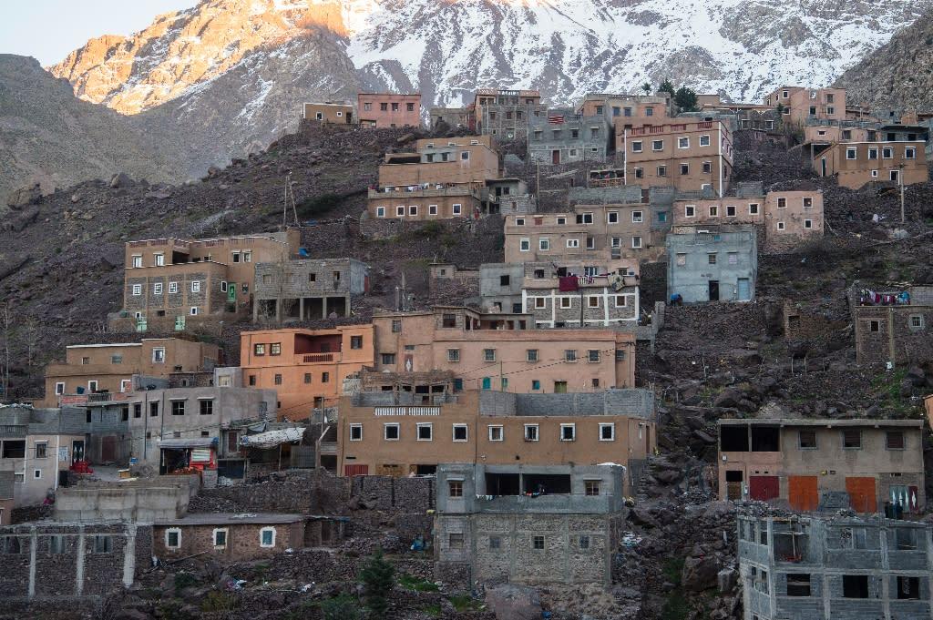 They were killed near the tourist village of Imlil (AFP Photo/FADEL SENNA)