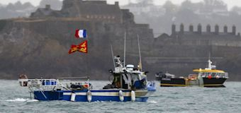 Bitter naval standoff between Britain and France