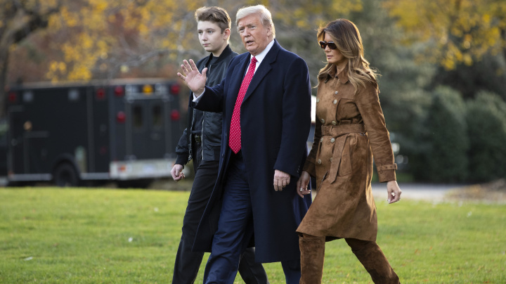 Melania Trump's silent path through impeachment