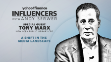 New York Public Library CEO Tony Marx joins 'Influencers with Andy Serwer'