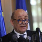 France's Le Drian blames Britain's 'attitude' for Brexit talks impasse