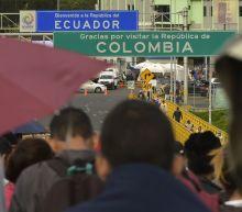 Venezuelans flee economic crisis at home