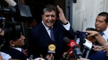 Peru's ex-president Garcia kills himself to avoid arrest in Odebrecht probe