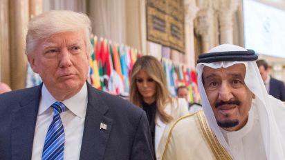 Reason that Trump's going easy on Saudi Arabia