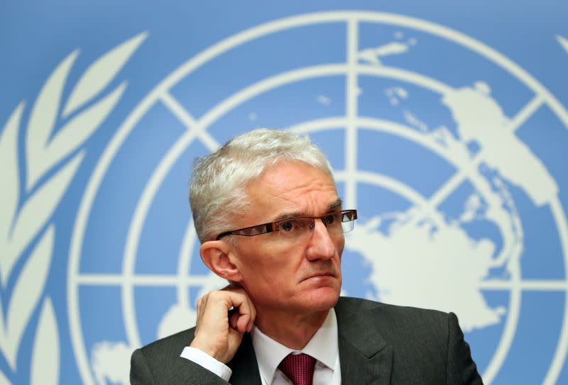 U.N. aid chief to G20 on coronavirus: 'Step up now or pay price later'
