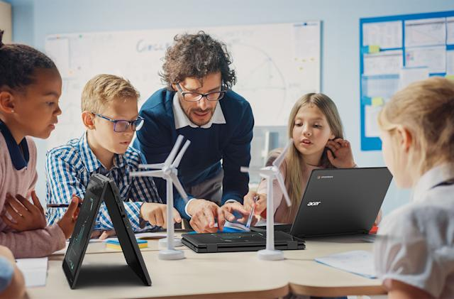 Acer's latest convertible Chromebooks are built for classroom mayhem