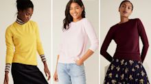 This top-rated £15 M&S jumper comes in 14 colours