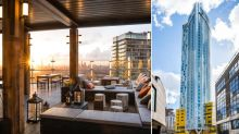 Sky's the limit: The Canary Wharf terrace which is Britain's newest must-visit rooftop bar