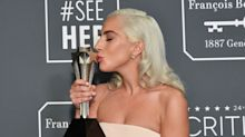 """Lady Gaga Says She Will """"Definitely Continue Acting"""" After Pair Of Critics' Choice Wins"""