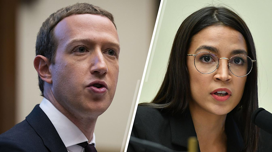 AOC grills Mark Zuckerberg over political ads